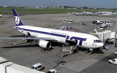 Another brutal attack on full-time employees of LOT Polish Airlines